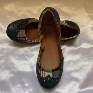 Lucky Brand | Women's Size 7.5 Plaid Flats